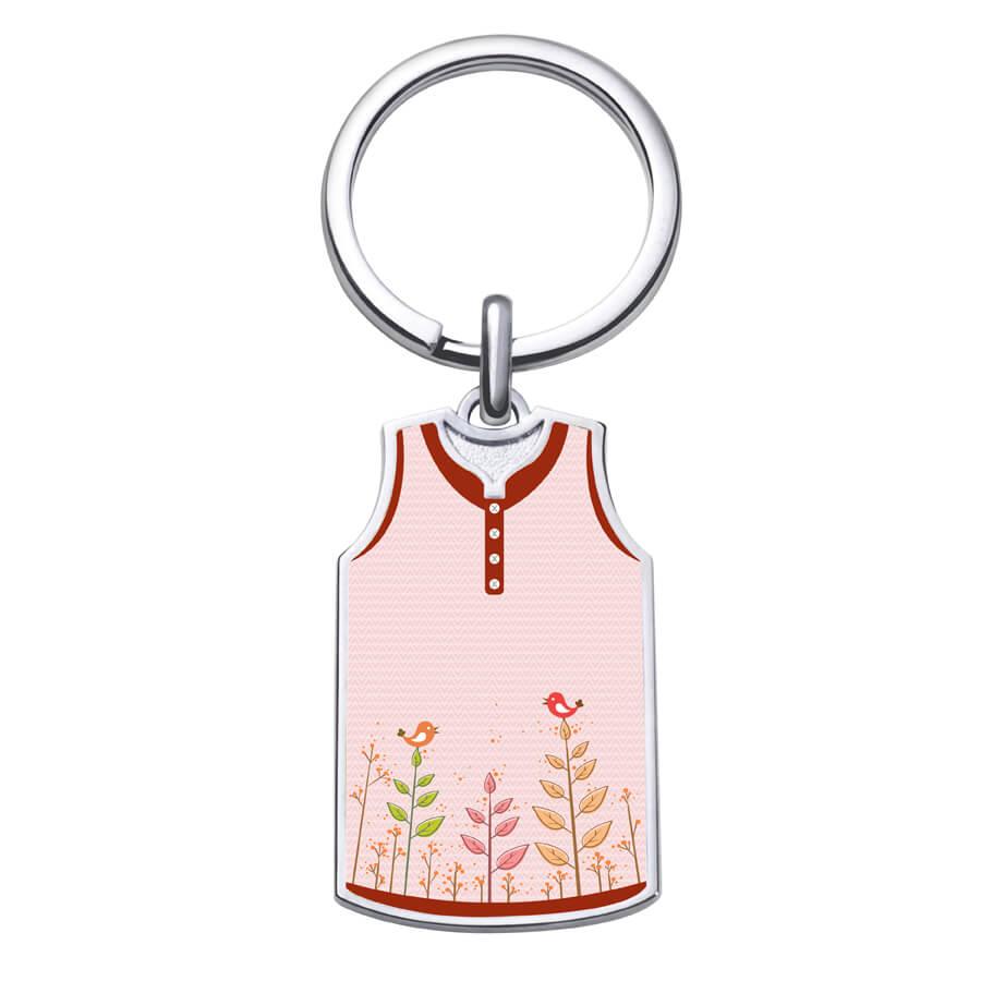 客製化籃球背心鑰匙圈