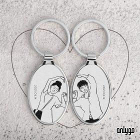 情人節客製鑰匙圈