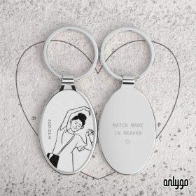 訂製情人禮物 專屬鑰匙圈